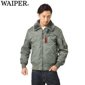 ■関連キーワード WIP WAIPER B-15 B15 フライトジャケット メンズ ミリタリー ジ...