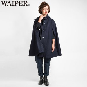 クーポンで20%OFF! 新品 フランス軍レディース ウールケープ(マント、ポンチョ)WAIPER.inc ミリタリー ブランド 17WP10 クリスマス プレゼント ギフト|waiper
