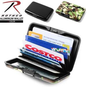 店内20%OFF! ROTHCO ロスコ ALUMINUM ワレット カードケース アコーディオン 財布 サイフ 名刺入れ ミリタリー 雑貨 小物|waiper