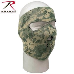 Rothco Reversible Neoprene Facemask  迷彩とブラックのリバーシブ...