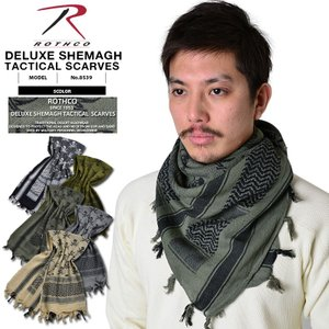 ROTHCO ロスコ 8539 DELUXE SHEMAGH TACTICAL SKULL アフガン...