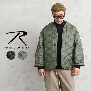 店内20%OFF! ROTHCO ロスコ 8292 M-65フィールドジャケット用 キルティングライナー OLIVE|waiper