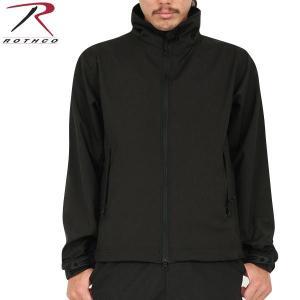ROTHCO ロスコ 9834 Tactical Uniform ソフトシェルジャケット BLACK...