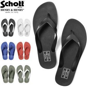 Schott ショット 3189026 BEACH SANDAL ビーチサンダル メンズ アメカジ ブランド ヘンリーヘンリー 人気【クーポン対象外】|waiper