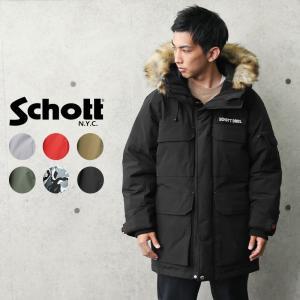 セール50%OFF!Schott ショット 3192037 アーバン エクスプロレーション ダウンパーカー メンズ ダウンジャケット コート ブランド【クーポン対象外】 waiper