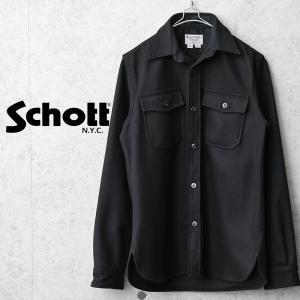 セール50%OFF!Schott ショット 42583 C.P.O ウールシャツ MADE IN USA メンズ メンズ ミリタリーシャツ アメカジ ブランド アメリカ製【クーポン対象外】 waiper