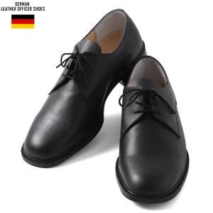 実物全品25%OFF! メンズ ミリタリーブーツ 革靴 実物 新品 ドイツ軍 レザー オフィサーシューズ オックスフォードシューズ|waiper