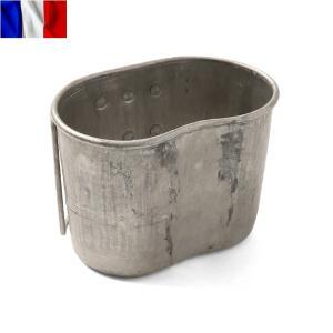 実物 フランス軍1QTキャンティーンカップのご紹介です。  フランス軍の個人携帯用装備品で、米軍の1...