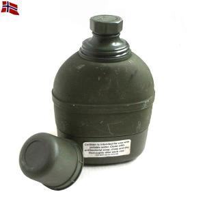 実物 USED ノルウェー軍 カナダ製 キャンティーン 保温瓶 水筒 CANTEEN ミリタリー雑貨 防災グッズ 災害グッズ【クーポン対象外】|waiper