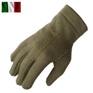 店内20%OFF! 実物 新品 イタリア軍 AF ウールグローブ オリーブ 手袋 メンズ 防寒 ミリタリーグッズ 雑貨 小物 軍物 軍用 放出品|waiper