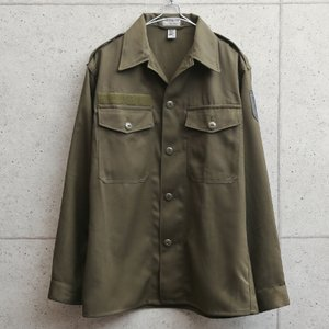 実物 オーストリア軍 コンバットシャツ USED メンズ ミリタリーシャツ 長袖 ゆったり 軍服 軍モノ 放出品|waiper