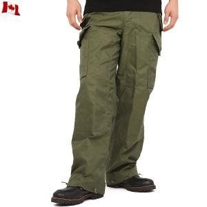 実物 新品 カナダ軍ウインドオーバーパンツ ミリタリーパンツ デッドストック メンズ カーゴパンツ 軍パン 長ズボン ワイド 太め 軍服 放出品【クーポン対象外】|waiper