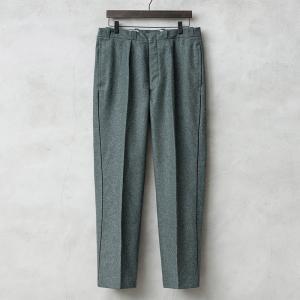 実物 スイス軍 サイドライン ウールパンツ メンズ ミリタリーパンツ 長ズボン 軍パン 放出品 waiper