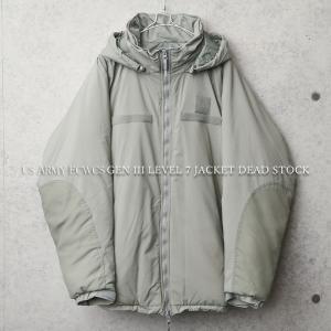 実物 新品 デッドストック 米軍APCU Gen III Level 7 ジャケット メンズ ECWCS プリマロフト レベル7 エクワックス ミリタリージャケット【クーポン対象外】|waiper