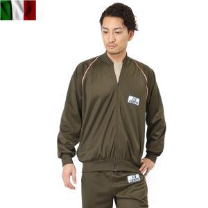 店内20%OFF! 実物 新品 イタリア軍 トレーニング ジムスーツ メンズ 上下セット ジャージ セットアップ 放出品 軍物 軍用|waiper