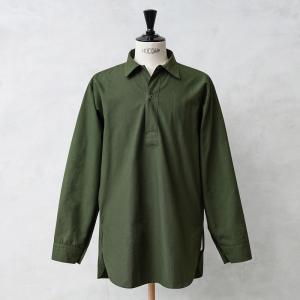 実物 新品 スウェーデン軍 M-55プルオーバーシャツ グリーン デッドストック メンズ ミリタリーシャツ グランパシャツ 長袖 放出品【クーポン対象外】|waiper