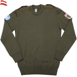 実物 新品 オーストリア軍コマンドセーター #1 ミリタリーセーター デッドストック|waiper