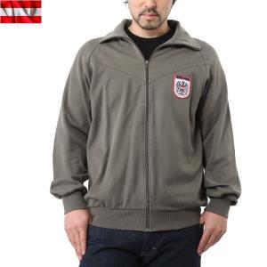 実物 オーストリア軍トレーニングジャケット WHITEパッチ メンズ アウター ミリタリージャケット ジャージ 軍服 軍物 放出品 払い下げ品|waiper