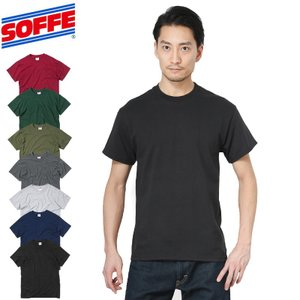SOFFE ソフィー M305 MIDWEIGHT Tシャツ MADE IN USA メンズ カットソー 半袖 アメリカ製 インナー ミリタリー 人気|waiper