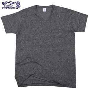 セール30%OFF!Velva Sheen ベルバシーン 1PAC S/S MOCK TWIST Vネック 半袖 Tシャツ BLACK パックTシャツ アメリカ製 USA ブランド【クーポン対象外】|waiper