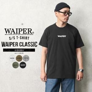 WAIPER.inc 2122004 S/S プリント Tシャツ WAIPER(クラシック) メンズ レディース ミリタリー ワイパー ブランド 春 夏【Sx】|waiper