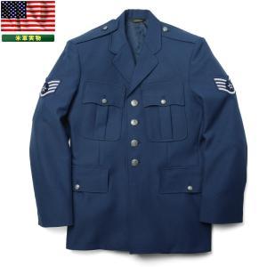 実物 米軍 アメリカ空軍(USAF)Uniforms ジャケット メンズ ミリタリー アウター 軍服 ブルゾン ジャンバー ジャンパー アメリカ軍【Sx】|waiper
