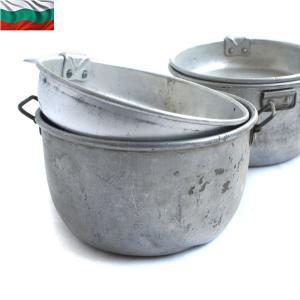 実物 USED ブルガリア軍 アルミメスキット ミリタリー ブッシュクラフト 軍用 キャンプ 食器 鍋 調理器具 放出品 払い下げ品【クーポン対象外】|waiper