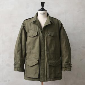 実物 新品 フランス軍 M-47 フィールドジャケット 前期型 コットン製 #1 デッドストック メンズ アウター ミリタリージャケット 軍服 放出品【クーポン対象外】|waiper