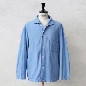 実物 ドイツ軍 パジャマシャツ ライトブルー USED 長袖 メンズ ミリタリーシャツ ジャケット 軍服 軍モノ 軍物 軍用 放出品【クーポン対象外】|waiper