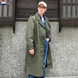 実物 新品 オランダ軍 スモックコート ベルクロフロント デッドストック メンズ レディース アウター ミリタリーコート ロングコート 軍服【クーポン対象外】|waiper