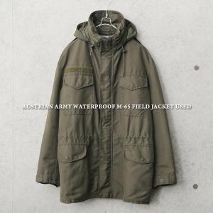 実物 USED オーストリア軍 ウォータープルーフ M-65フィールドジャケット メンズ ミリタリー アウター 放出品 軍服 軍物 希少【クーポン対象外】 waiper