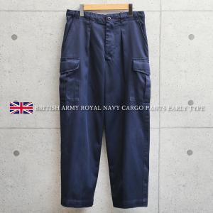 実物 USED イギリス軍 Royal Navy カーゴパンツ 前期型 メンズ ミリタリーパンツ ゆったり 太め 軍パン 長ズボン ロイヤルネイビー 放出品【クーポン対象外】 waiper