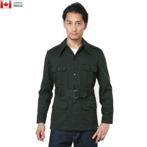 実物 USED カナダ軍 4ポケット BUSH ジャケット メンズ ミリタリー アウター ブルゾン ジャンバー【クーポン対象外】|waiper