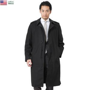 ■商品説明 実物 USED 米軍 U.S. NAVY ブラックステンカラーコートのご紹介です。U.S...
