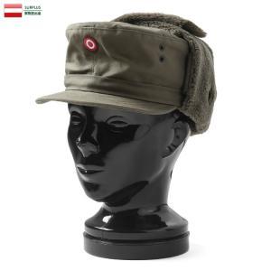 実物 新品 オーストリア軍 ウィンターボアキャップ デッドストック メンズ レディース フライトキャップ 帽子 軍放出品 軍用 防寒グッズ 小物 耳当て|waiper