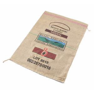 ■商品説明 ヘンプ コーヒーバッグ 麻袋 USEDのご紹介です。  コーヒー農場などで実際に使用され...
