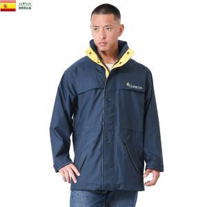 実物 新品 スペイン Correos ナイロン レインジャケット コレオス メンズ アウター 雨合羽 カッパ 雨具 レイングッズ 撥水 レインコート デッドストック|waiper
