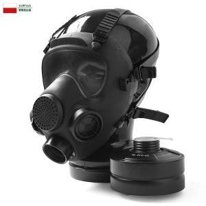 実物 新品 ポーランド軍 MP-5 ガスマスク BLACK デッドストック ミリタリー 軍物 アンティーク インテリア オブジェ おしゃれ【クーポン対象外】|waiper