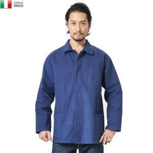 実物 新品 イタリア軍 モールスキン ワークカバーオール メンズ ミリタリージャケット ワークジャケット アウター ジャンパー 軍服【クーポン対象外】|waiper