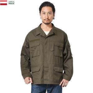 実物 USED オーストリア軍 フィールドジャケット メンズ ミリタリージャケット ジャンパー アウター コート 軍服 放出品|waiper