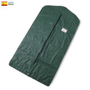 実物 新品 スペイン軍 ガーメントケース デッドストック ガーメントバッグ スーツ入れ バッグ ミリタリー おしゃれ 軍放出品|waiper