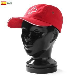 実物 新品 スペイン軍 赤十字 レッドクロス キャンプキャップ #1 メンズ レディース 帽子 ミリタリーキャップ デッドストック 放出品|waiper
