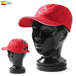 実物 新品 スペイン軍 赤十字 レッドクロス キャンプキャップ #2 メンズ レディース 帽子 ミリタリーキャップ デッドストック 放出品|waiper