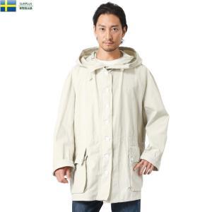 実物 USED スウェーデン軍 M-62 コットン スノーカモパーカー メンズ ミリタリージャケット アウター コート ジャンバー 軍服 おしゃれ お洒落 waiper
