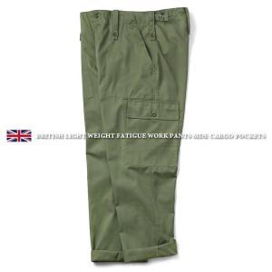 実物 新品 イギリス軍 ライトウェイト ファティーグ パンツ サイドカーゴポケット付き メンズ ベイカーパンツ 薄手 軍パン 太め 軍服【クーポン対象外】|waiper