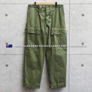 実物 新品 デッドストック オーストラリア軍 ARMY ファティーグ カーゴパンツ メンズ ベイカーパンツ ミリタリーパンツ 軍パン 軍服 太め【クーポン対象外】|waiper