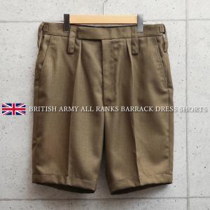 実物 新品 イギリス陸軍 ALL RANKS BARRACK DRESS オフィサーショートパンツ ブラウン メンズ ハーフパンツ ミリタリーパンツ バラックパンツ【クーポン対象外】|waiper
