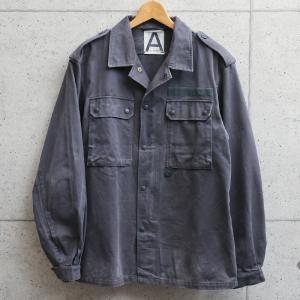 実物 USED ドイツ軍 グレー フィールドジャケット メンズ ミリタリージャケット アウター ジャンバー ブルゾン 軍服 古着 放出品【クーポン対象外】|waiper