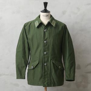 実物 USED スウェーデン軍 M-59 フィールドジャケット メンズ ミリタリージャケット アウタ...