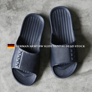 実物 新品 ドイツ軍 BW シャワーサンダル メンズ レディース ミリタリー スライドサンダル 軽量 ビーチサンダル 靴 おしゃれ 放出品【クーポン対象外】|waiper